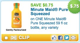 Minute maid squeezed