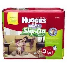 huggies slip on