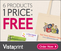 vistaprint spring free items