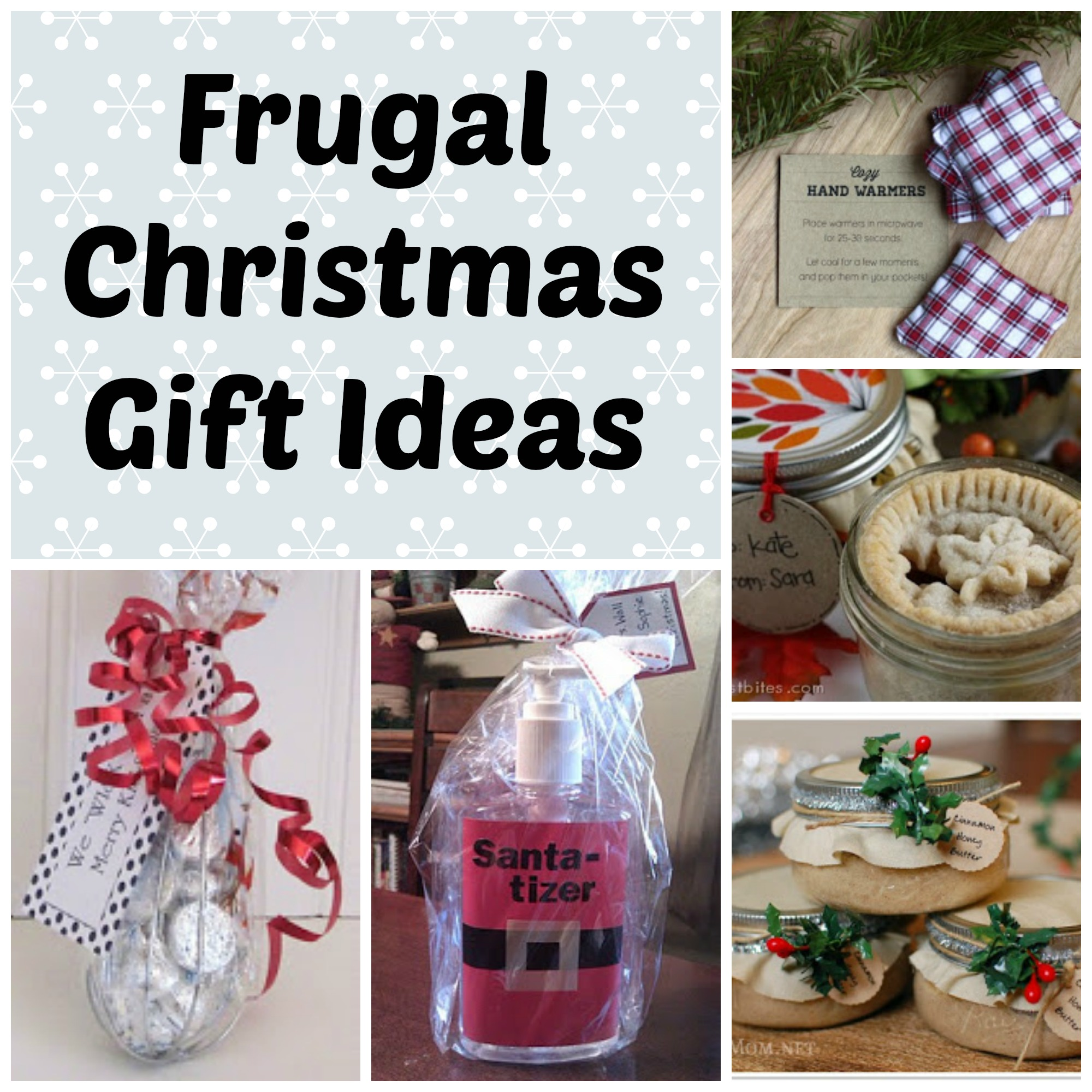 Frugal Christmas Gift Ideas (Part 1) - Saving Cent by Cent