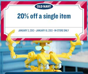 Old navy coupons august 2019