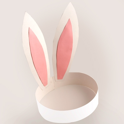Easter crafts activities for children saving cent by cent for Bunny ears headband template