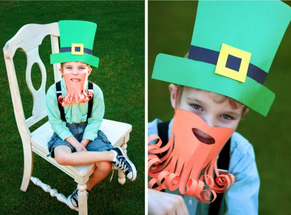 leprechaun mask template - st patrick 39 s day activities and ideas saving cent by cent