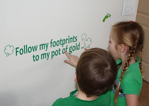f21ad0ac3 Leprechaun Pot of Gold Treasure Hunt – The kids will be really excited  about a Pot of Gold Treasure Hunt.
