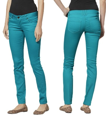 Target: Mossimo Juniors Colored Skinny Denim Jeans Only $15 Shipped  (Regularly $22.99)