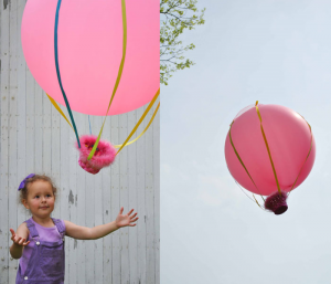 activities for kids - hot air balloon