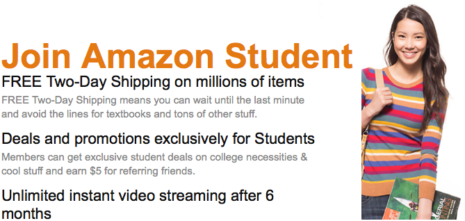 HOW TO GET COLLEGE DISCOUNT ON AMAZON