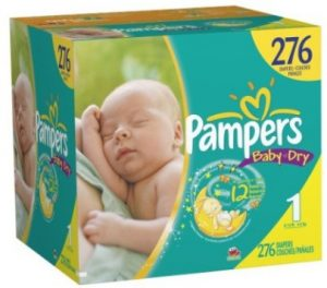pampers diapers size 1