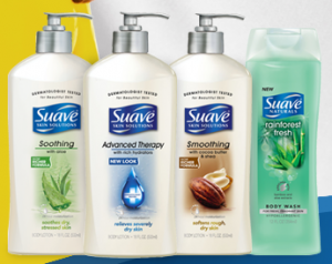 suave sweepstakes free coupon or body care product
