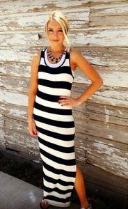 amore apparel maxi dress cropped 2