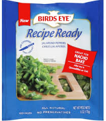 birds eye recipe ready product
