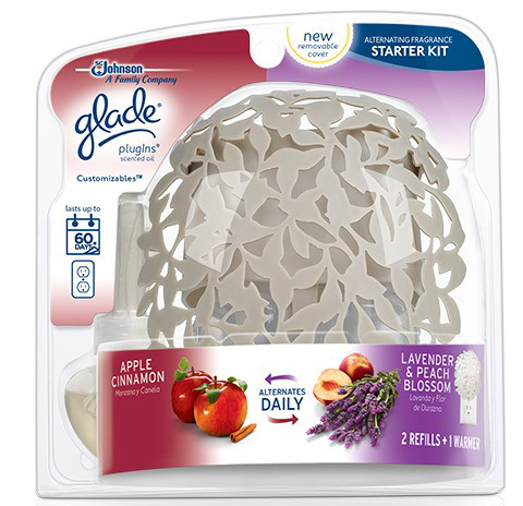 glade plugins scented oil starter kit