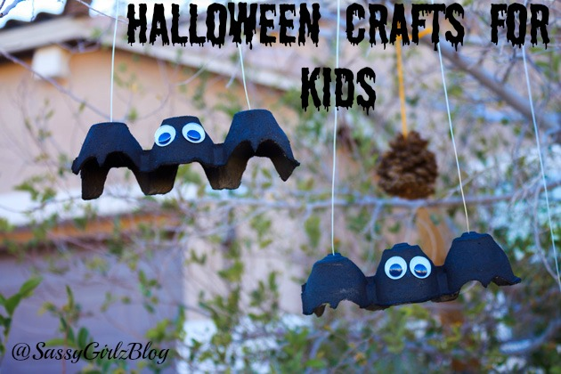 halloween activities for kids - flying bat