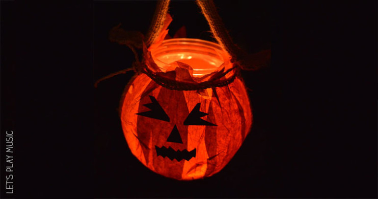 halloween activities for kids - luminous jack o lantern