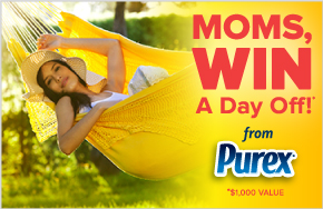purex moms win a day off sweepstakes