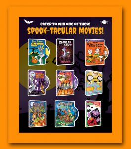 warner bros spook-tacular dvd