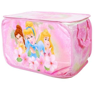 amazon disney princess collapsible storage trunk