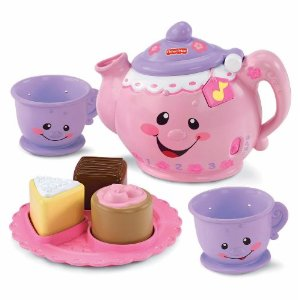 amazon fisher price tea set