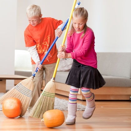 fall activities - gourd game