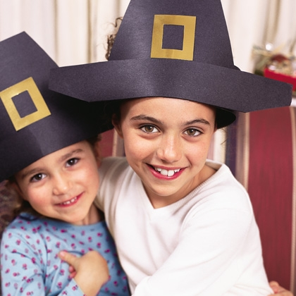 fall activities - pilgrim hats