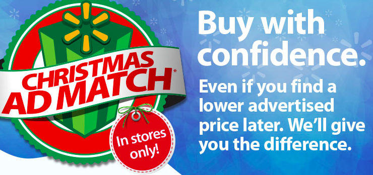 walmart holiday price match policy