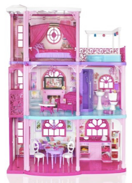 amazon barbie 3-story house