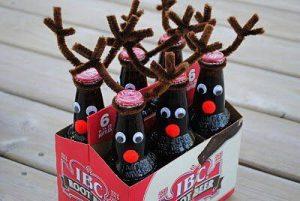 frugal christmas - reindeer rootbeer